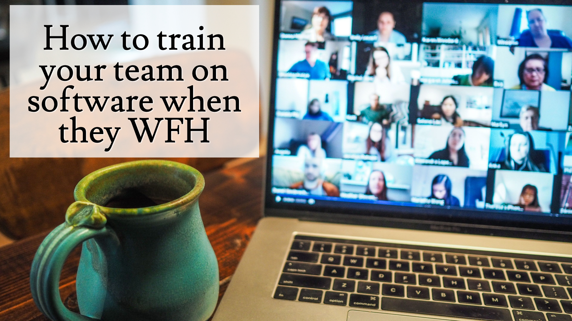 Train Staff working from home