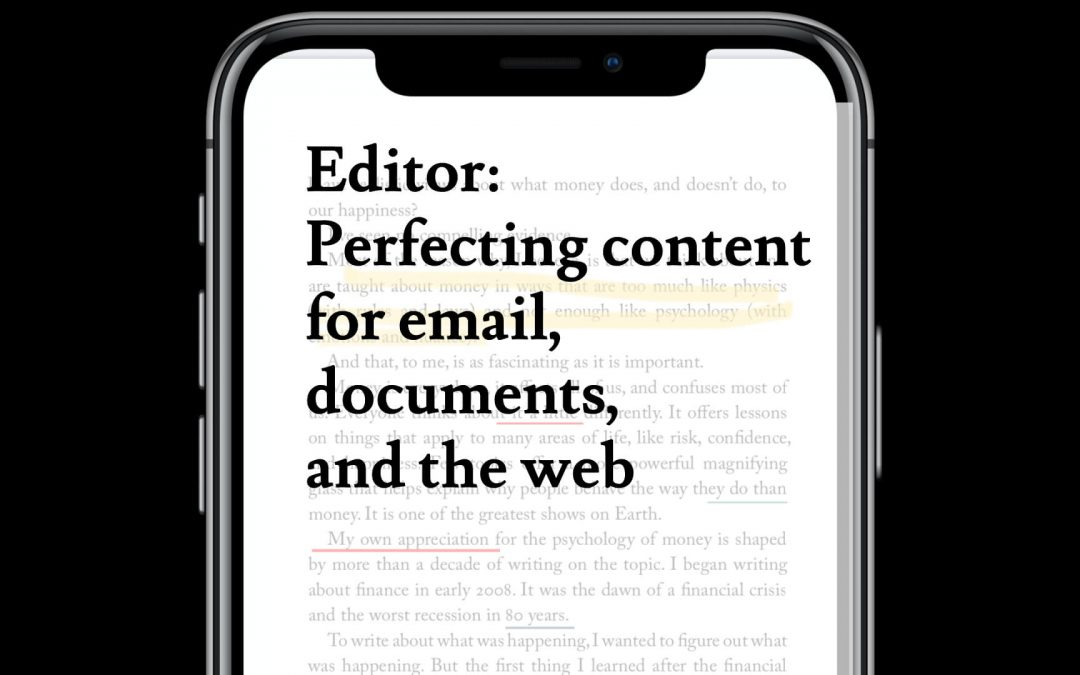 Microsoft Editor – another Microsoft 365 app you didn't know you had